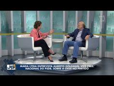 Maria Lydia entrevista Alberto Goldman vice-pres. nacional do PSDB sobre a crise no partido