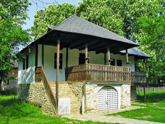 Cabin Plans, House Plans, Bucharest Romania, European House, Traditional House, Old Houses, My Dream Home, Gazebo, Cottage