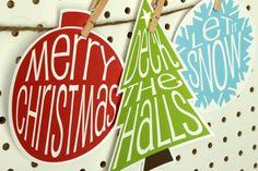 Free Christmas Postcard Printables