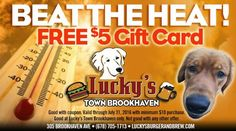 Present this coupon, and enjoy this  FREE $5 gift card, on us!