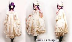 Lolita Robe a la Francaise   source: http://vivcore.deviantart.com/art/Lolita-Robe-a-la-Francaise-80834065?offset=10