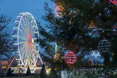 Jusqu'au 4 janvier, la grande roue au Jardin du Mail #Angers