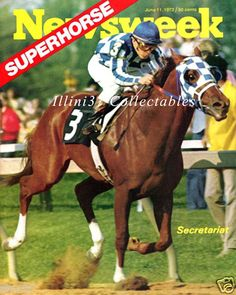 Newsweek June 1973. Secretariat 1973 Kentucky Derby Winner