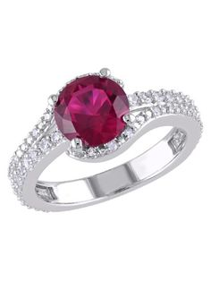 458 Details about  /9.5 Ct Red Ruby 925 Sterling Silver Filigree Rings For Women Birthday Gift