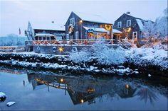 Wickford in the Winter       #VisitRhodeIsland                                                                                                                                                                                 More