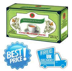 Natural SENNA Tea WEIGHT LOSS,  Laxative, Detox -20 tea bags BIOPROGRAMME