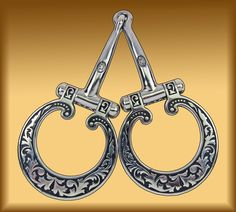 Two-Moons Snaffle, JWP, Jeremiah Watt, sweet steel mouth, copper inlaid,