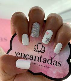 Acrylic Gel, Short Nails, Pink Nails, Nail Art Designs, Manicure, Make Up, Spas, Beauty, Perfect Nails