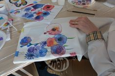 Paint on silk scarves! Painting Workshop, Silk Painting, Silk Scarves, Atelier