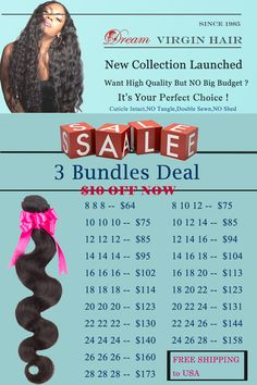 Share this pin to get the $10 coupon now. #dreamvirginhair