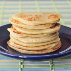sweet cream protein pancakes @FoodBlogs