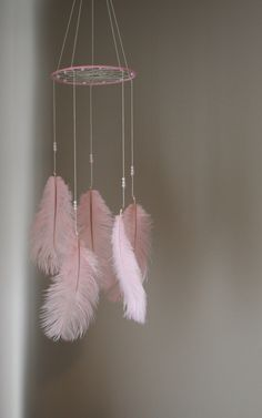 Pink Dreamcatcher Mobile Tribal Bohemian Mobile Bohemian Nursery Girl Mobile Native American Art Pink White Dreamcatcher Mobile Boho Nursery by OliviaOliverBaby on Etsy https://www.etsy.com/listing/231404466/pink-dreamcatcher-mobile-tribal-bohemian