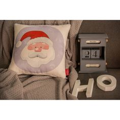 Santa Calus Pillow #pillow #santa #christmas #present #interiordesign #homedeco #joy #charity #donation
