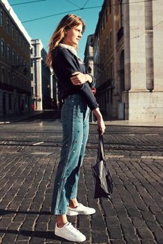 This Casual Denim Look Is Anything But Basic