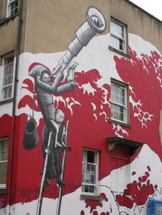 Phlegm Graffiti in Bristol