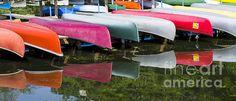 Title:  Canoes  Artist:  Steven Ralser  Medium:  Photograph - Photography