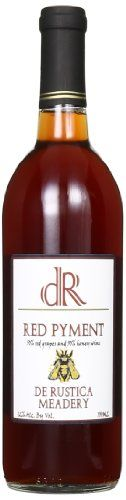 Mead Wine - NV De Rustica Meadery Red Pyment Mead 750 mL *** Find out more about the great product at the image link. Mead Wine, Image Link, Canning, Bottle, Awesome, Red, Check, Wine, Flask