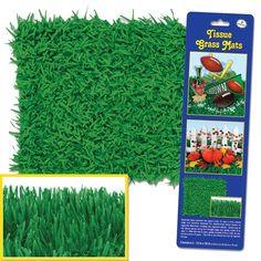 Green Tissue Grass Mats - 2 Per Unit
