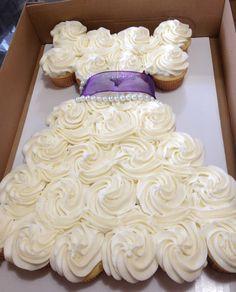 Wedding Dress Cupcake Cake 8 Epic Strapless wedding dress cupcakes