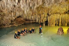 Rio Secreto cenote, a hidden treasure in the Riviera Maya, it's a must if you are in Cancun or Riviera Maya area<< Might have to do this!