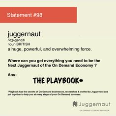 What is a Juggernaut?