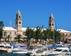Royal Naval Dockyard - at the far west end of Bermuda, this is a fun place when there is a festival or concert.
