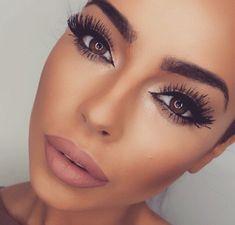 gorgeous eye makeup neutral tones clean finish