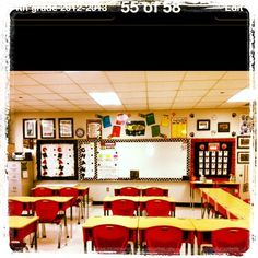 Image result for classroom configuration with long tables