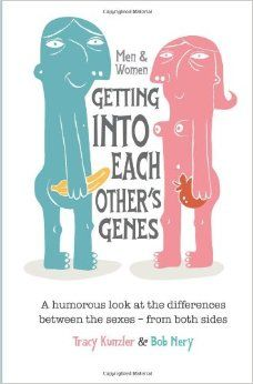 """Hilarious book that's a great gift for the person who has everything but answers to age old dilemmas when it comes to the differences between men and women! """"Men & Women: Getting Into Each Other's Genes"""" - just $3.99 for ebook and $8.99 for paperback. Promise you'll laugh! Great Father's Day gift when paired with his favorite brew! #funnybirthdaygift #fathersdaygift #goodreads"""
