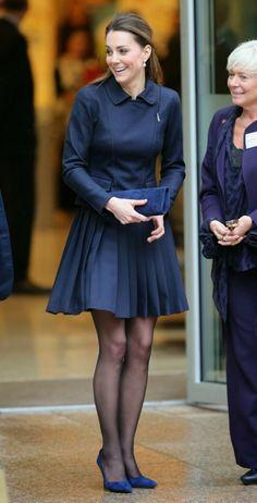 Duchess of Cambridge in blue