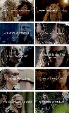 CLEXA I didn't ship them as much but they were cute together