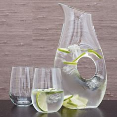 Ona Large Pitcher in Pitchers and Decanters   Crate and Barrel
