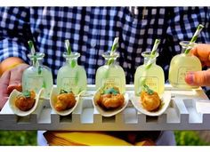 Hors d'Oeuvre Displays We Love Wedding Reception Photos on WeddingWire