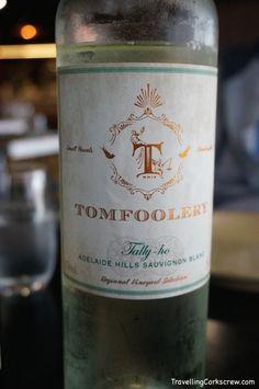 TomFoolery Tally-ho Sauvignon Blanc