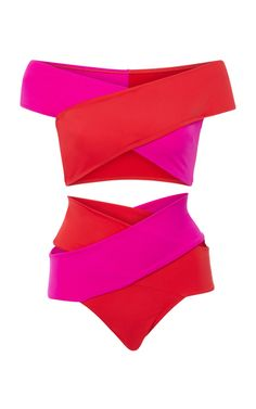Shop Lucette Two-Piece Bikini Set. Cut with a flattering crisscross bandage design, OYE Swimwear's 'Lucette' bikini set perfectly hugs your shape. Bikinis, Bikini Swimwear, Swimsuits, Resort Swimwear, Si Swimsuit, Beach Ready, Two Piece Bikini, Bikini Photos, Simple Outfits