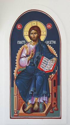 Religious Icons, Religious Art, Christ Pantocrator, Christ The King, Orthodox Christianity, Orthodox Icons, Christian Faith, Jesus Christ, Catholic