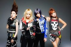 2NE1 - love their music and their style because they're BFFs with Jeremy Scott!