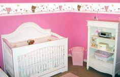 Teddy Bear Border for the nursery Cribs, Playroom, Nursery, The Incredibles, Wall Decorations, House, Furniture, Teddy Bear, Home Decor