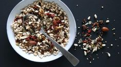 """Put the """"you"""" back into your morning muesli with Jill Dupleix's DIY or """"bespoke"""" muesli recipe (hers contains quinoa and almonds)."""