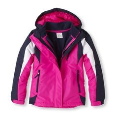 Our warmest all-weather jacket to battle the cold! A water-resistant shell with removable glacier fleece liner for three layering options.