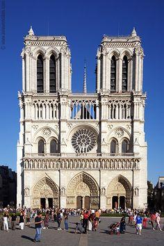 Main nave of the Notre-Dame de Paris