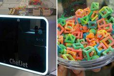 Tecnologia do Dia - ChiefJet - Impressão de comidas 3D