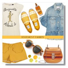 Baguette about it by blueyed on Polyvore featuring polyvore fashion style MSGM Chloé clothing