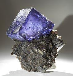 Fluorite on Sphalerite - Tennessee