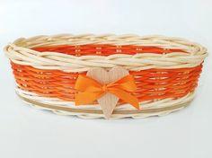 oranžová mini elipsa so srdiečkom