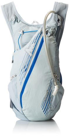 Gregory Mountain Products Tempo 8 Hydration Pack, Blade Silver, Medium/Large. Hydrapak Shape-Shift reservoir. Panel-access main zippered compartment. External zippered secondary gear pocket. External stretch mesh pocket with grab tab. Stretch mesh external pocket with easy pull grab tab.