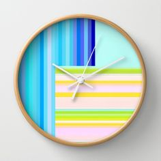Re-Created Parquet 16 Wall Clock by Robert S. Lee - $30.00