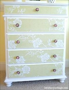 Furniture Makeover Laceys Dresser by Cloud9