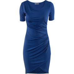 I like the color and irregularity in this dress