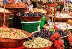 Wochenmarkt - Oliven